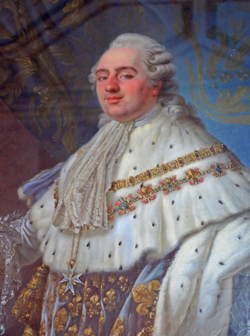 A portrait of Louis XVI, King of France.