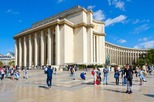 Palais de Chaillot - Paris, France