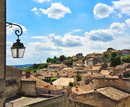 The village of St. Emilion in Bordeaux, France