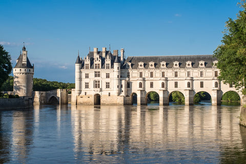 Chenonceau Castle from the water