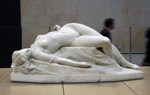 The young Tarentine sculpture at the Musee D'Orsay