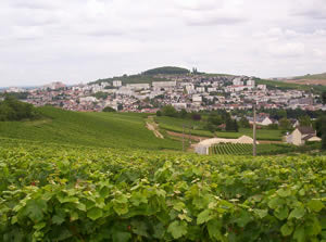 The town of Epernay