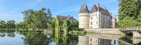 The castle of L'Islette in the Loire Valley.