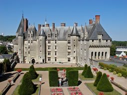 Chateau Langeais in the Loire Valley, France.