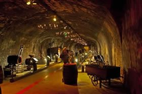 Champagne cellars in Reims, France