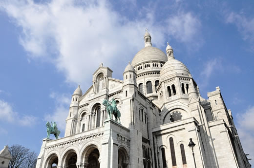 Sacre Coeur church in Paris.