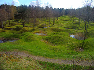 Verdun Battlefield today