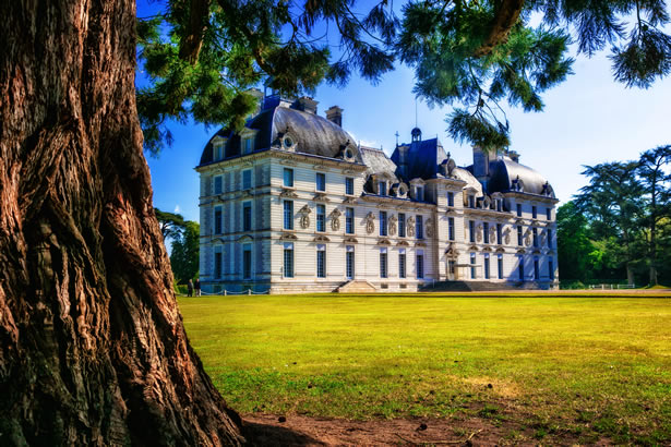 Cheverny castle in the Loire Valley.