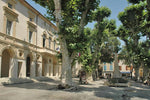 Load image into Gallery viewer, A town square in charming Saint-Rémy-de-Provence, France.
