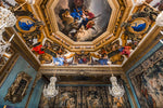Load image into Gallery viewer, A ceiling inside of  Vaux le Vicomte castle.