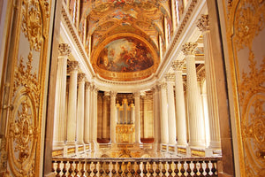 The chapel inside Versailles palace.