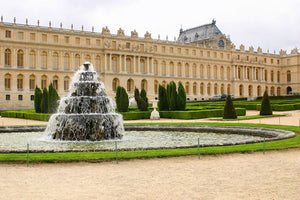 A fountain outside the Palace of Versailles.
