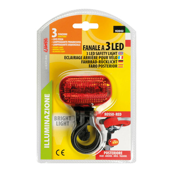 Fanale posteriore a 3 led