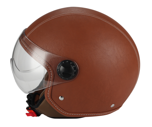 Casco Demi jet 801 One Pelle A