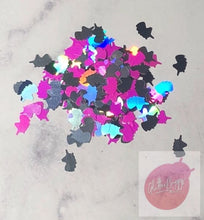 Load image into Gallery viewer, Unicorn shaped Glitter