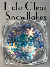 Load image into Gallery viewer, Snowflake shaped Glitter