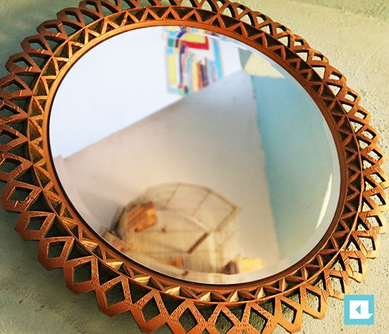 Arabesque Golden Mirror