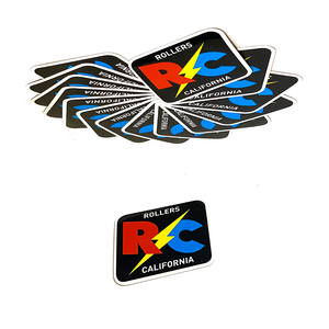RC RHOMBUS STICKER
