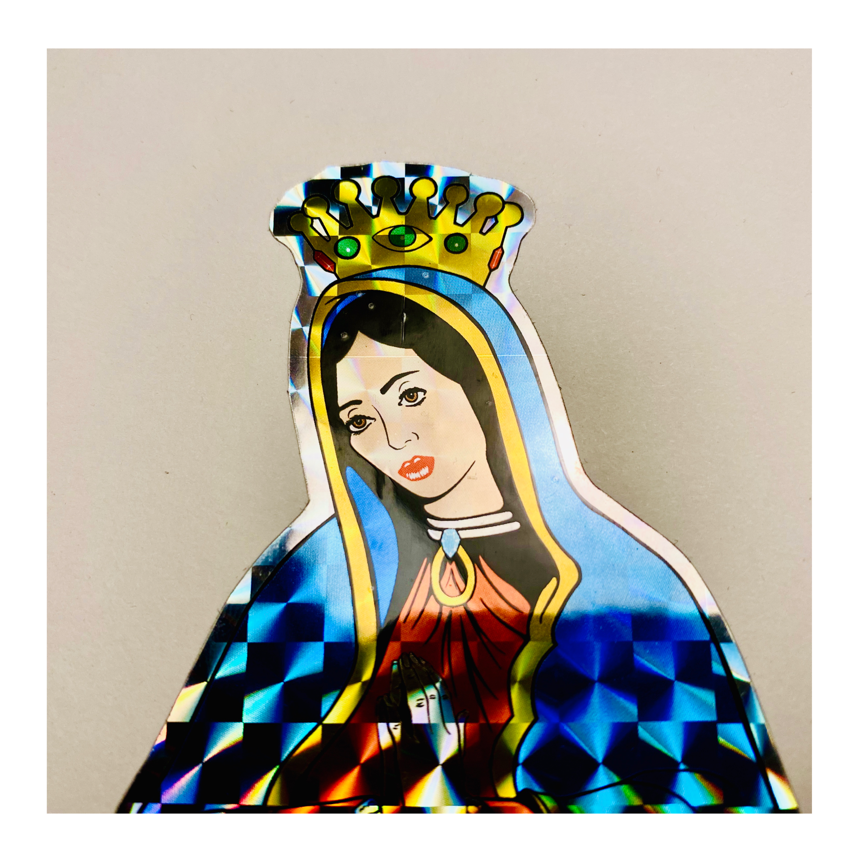 GUADALUPE de JASON JESSEE PRISMATIC STICKER