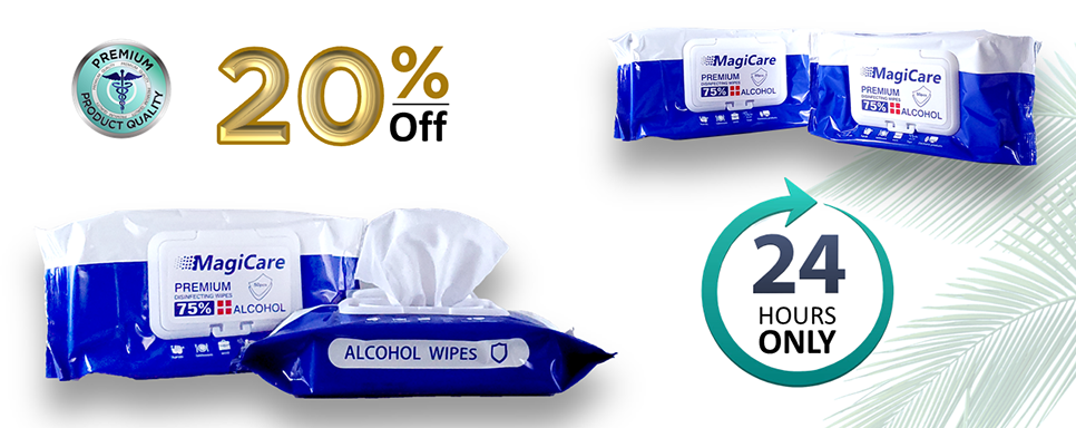 Disinfectant Alcohol wipes