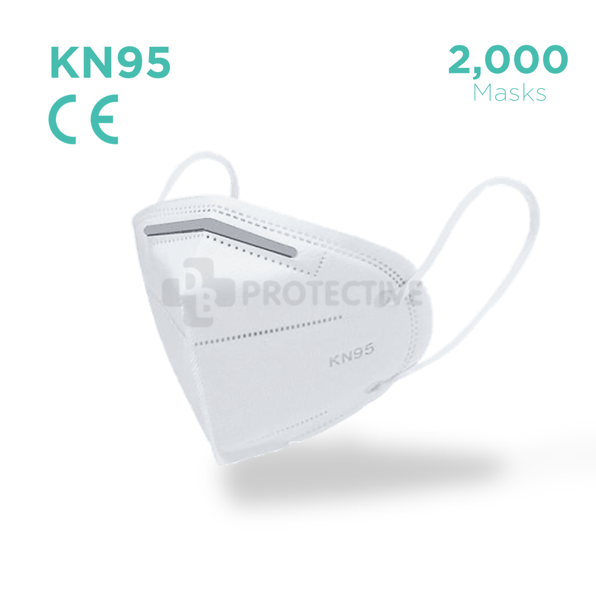 KN95 Face mask - Pack of 2000.