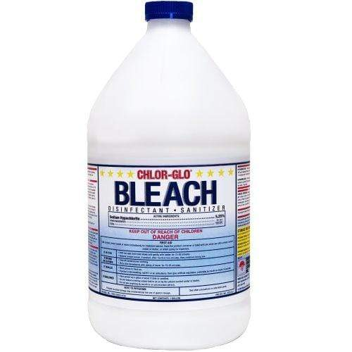 Diamond Chlor-Glo Bleach Disinfectant Sanitizer - 4 Bottles of One Gallon