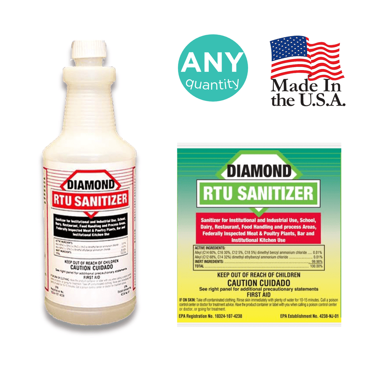 Diamond RTU Sanitizer