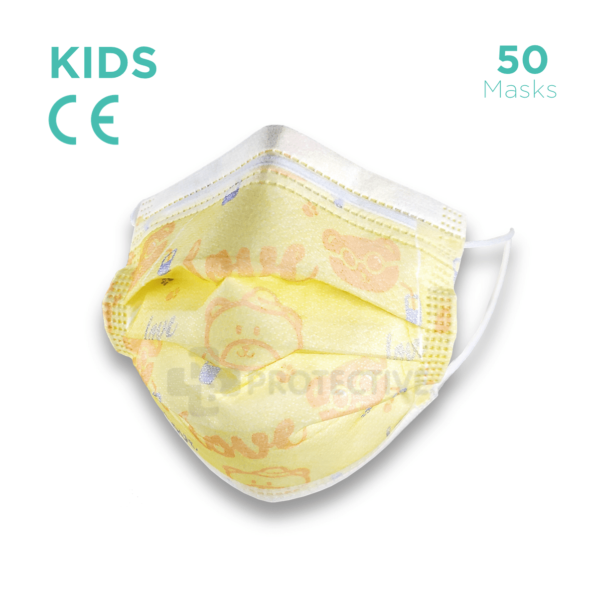 Kids Disposable face Mask Kids - 50 Disposable Kids Face Masks