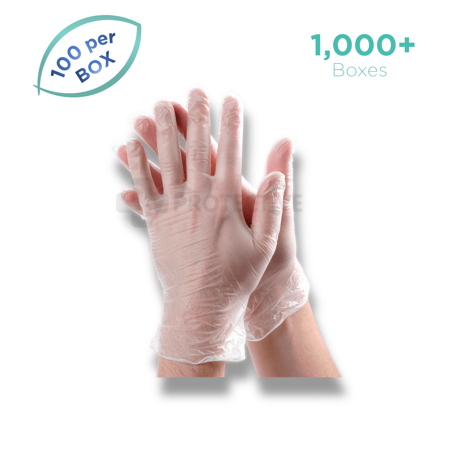 Copy of Vinyl Gloves - Pack of 100,000. - USA Medical Supply - DB Protective