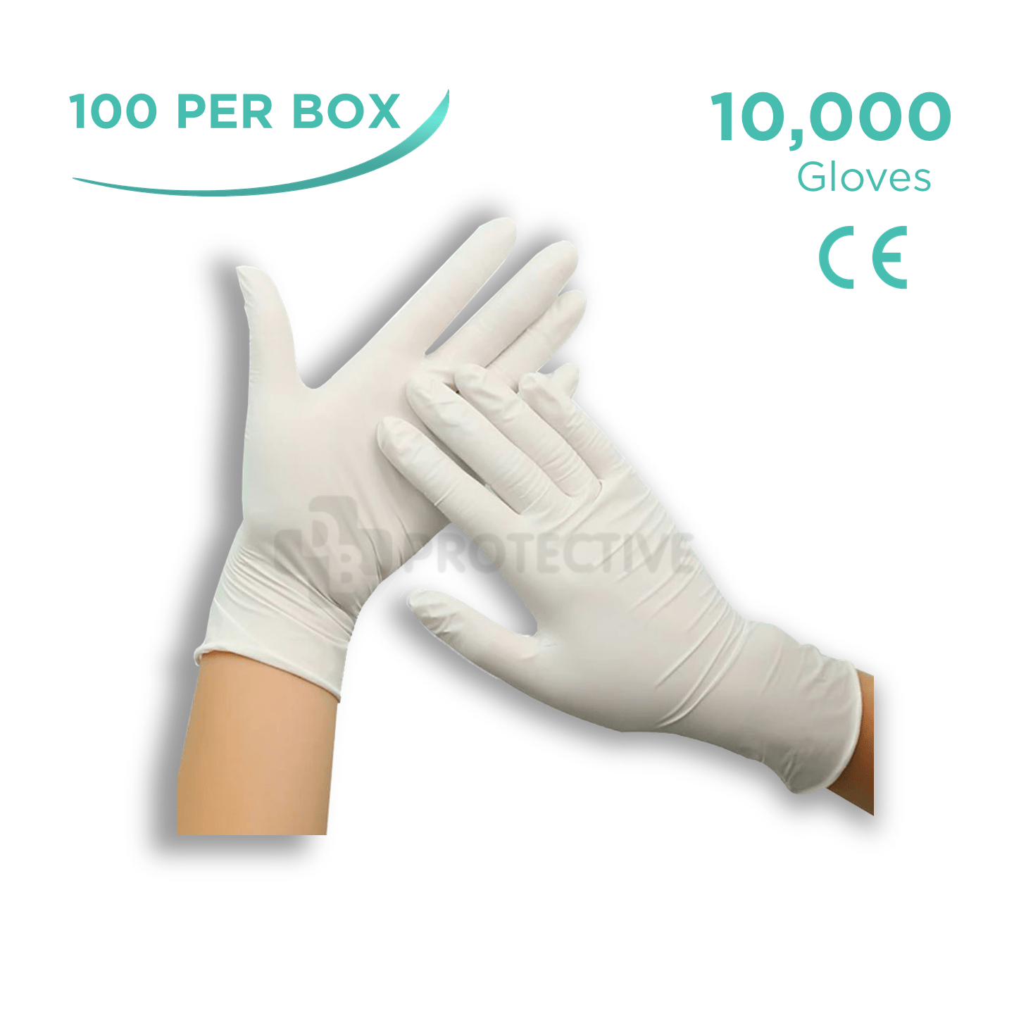 Latex Gloves - Pack of 10,000. - USA Medical Supply - DB Protective