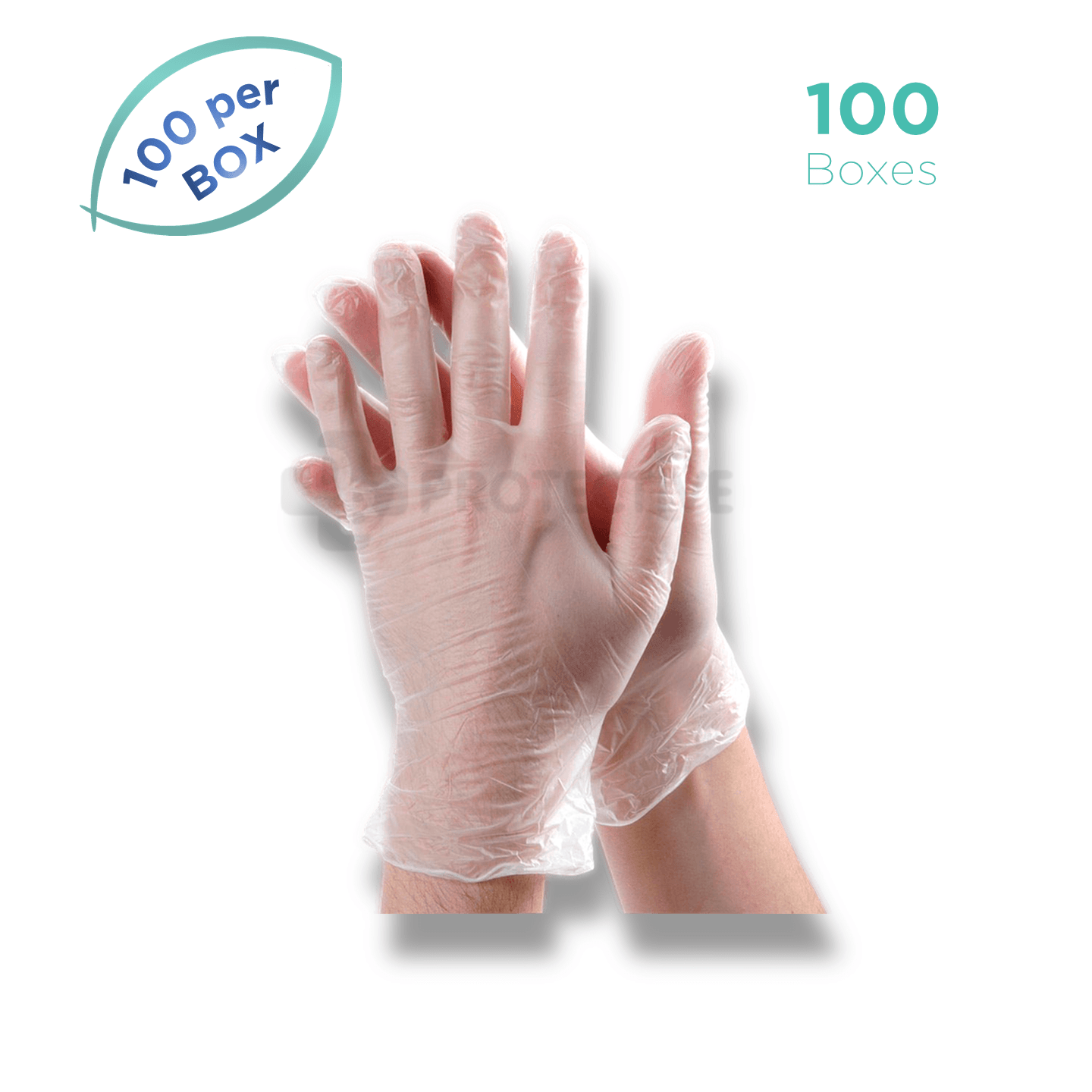 Vinyl Examination Gloves - Pack of 10,000. - USA Medical Supply - DB Protective