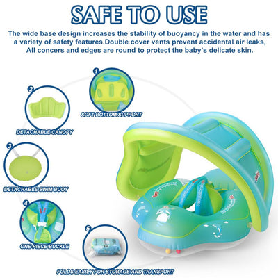 Baby Lifeguard - Infant Inflatable Floating Ring