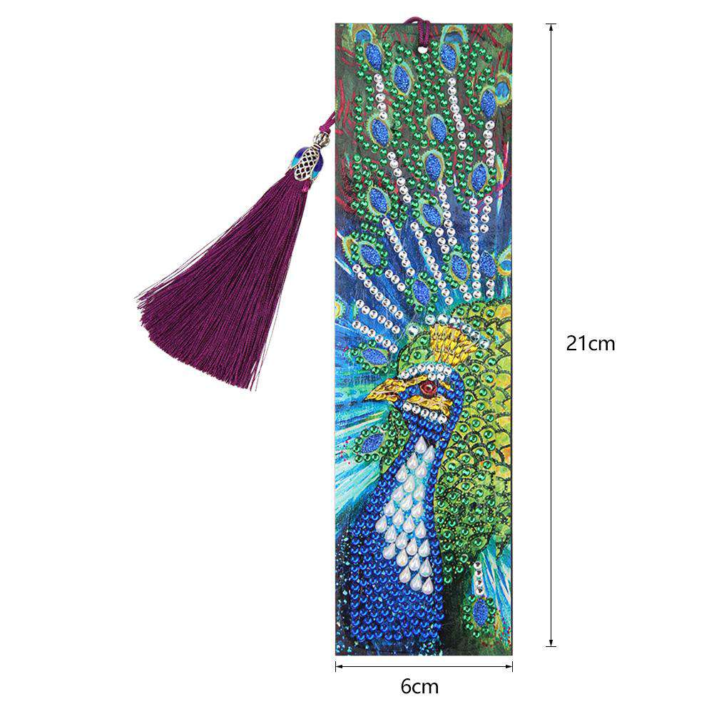 Bookmark Proud Peacock