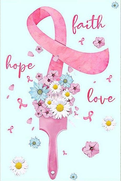 Pink Ribbon | Faith Hope Love