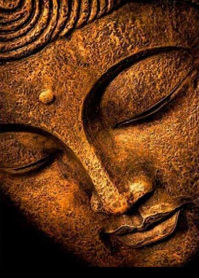 Peaceful Buddha Face