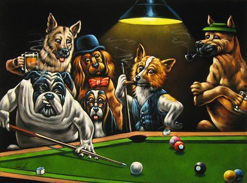 Dogs Billiards