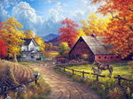 Farm in Autumn