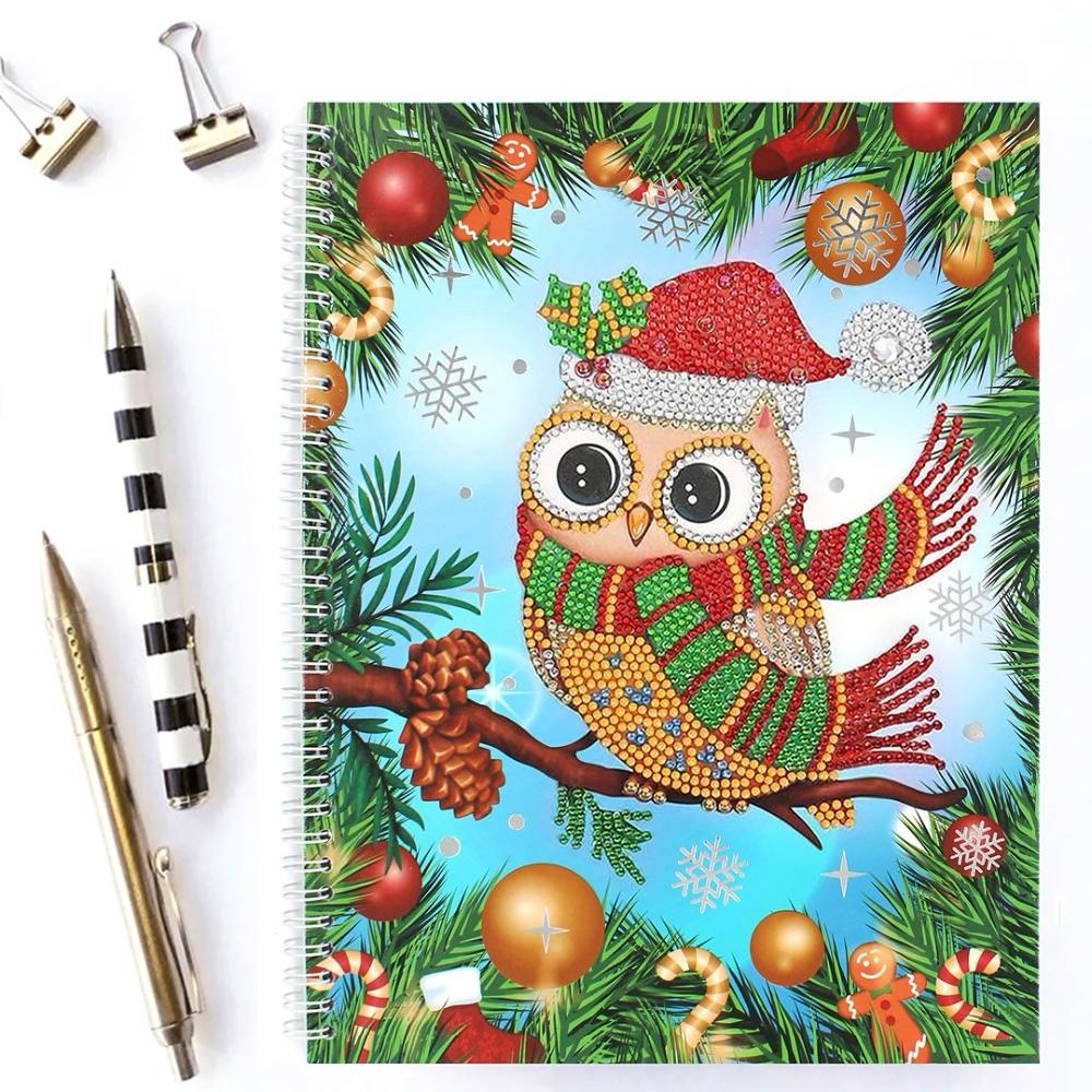 Notebook Christmas | Owl