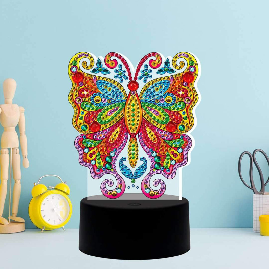 DP Lamp Colorful Butterfly
