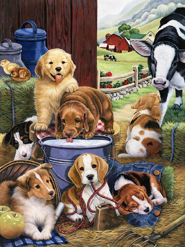 Puppies on The Farm