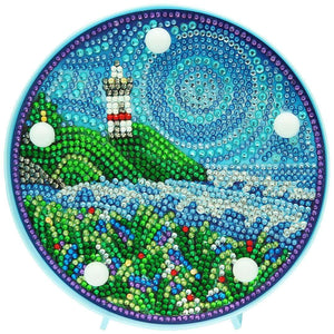 Round Lamp Mandala Lighthouse