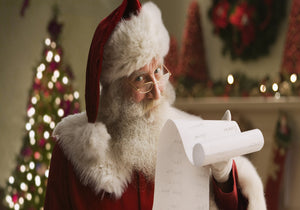 Santa with Gift List