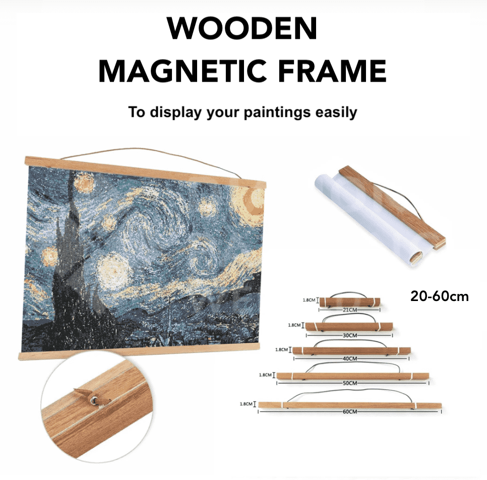 Magnetic Frame for Diamond Paintings