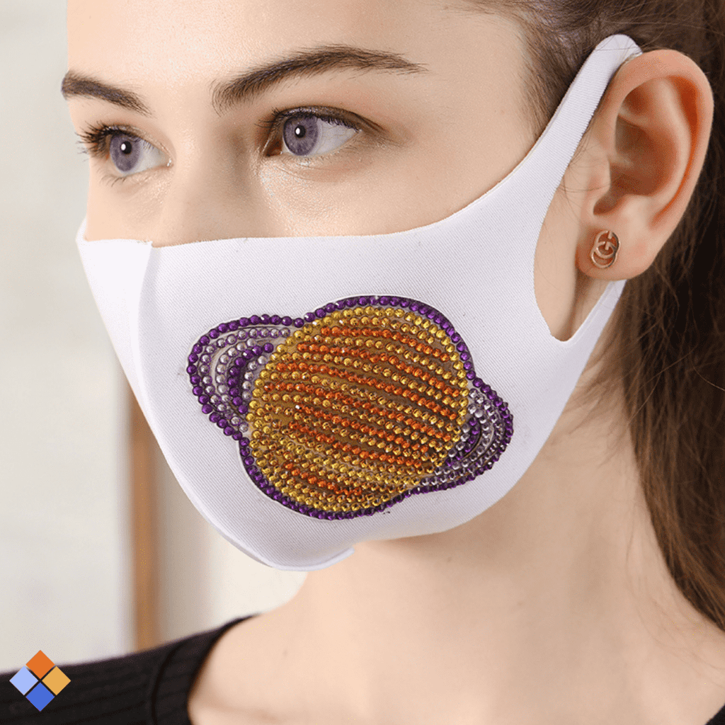 White Planet Face Mask