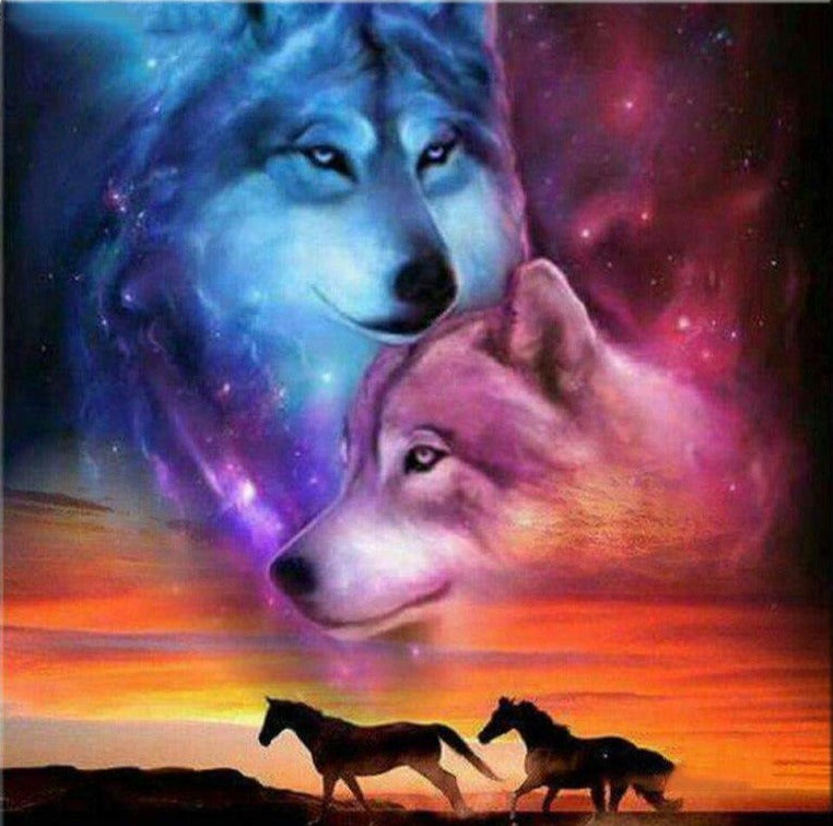 Wolves and Horses