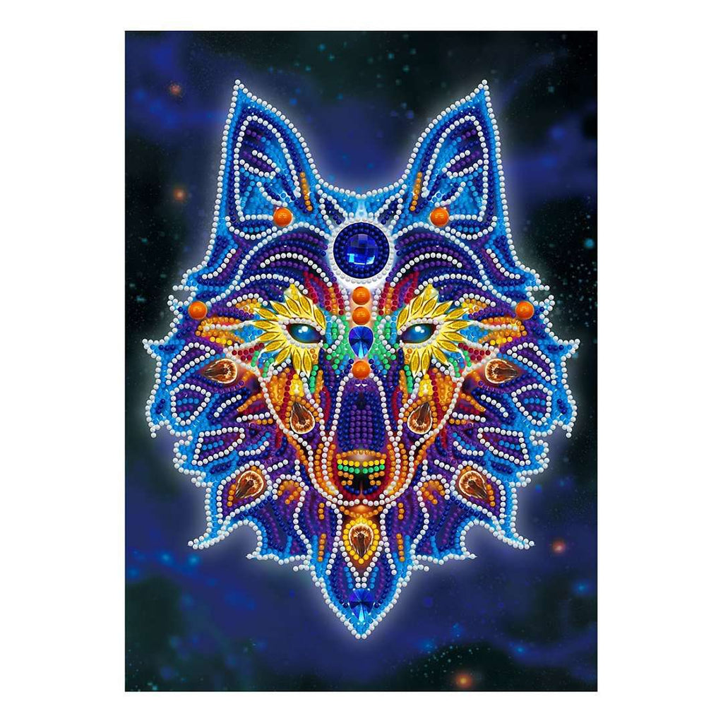Mystic Wolf | Glow in the Dark