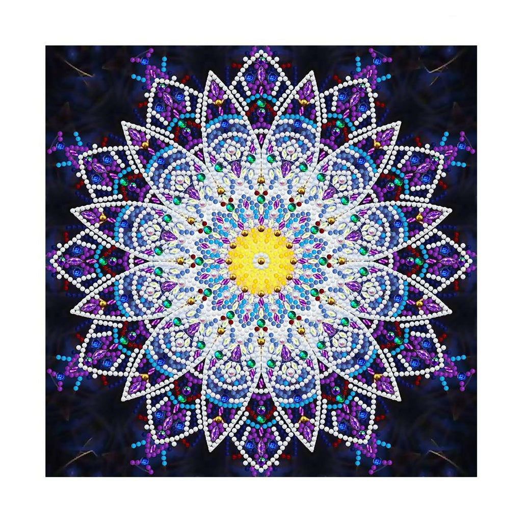 Mandala Purple | Glow in the Dark