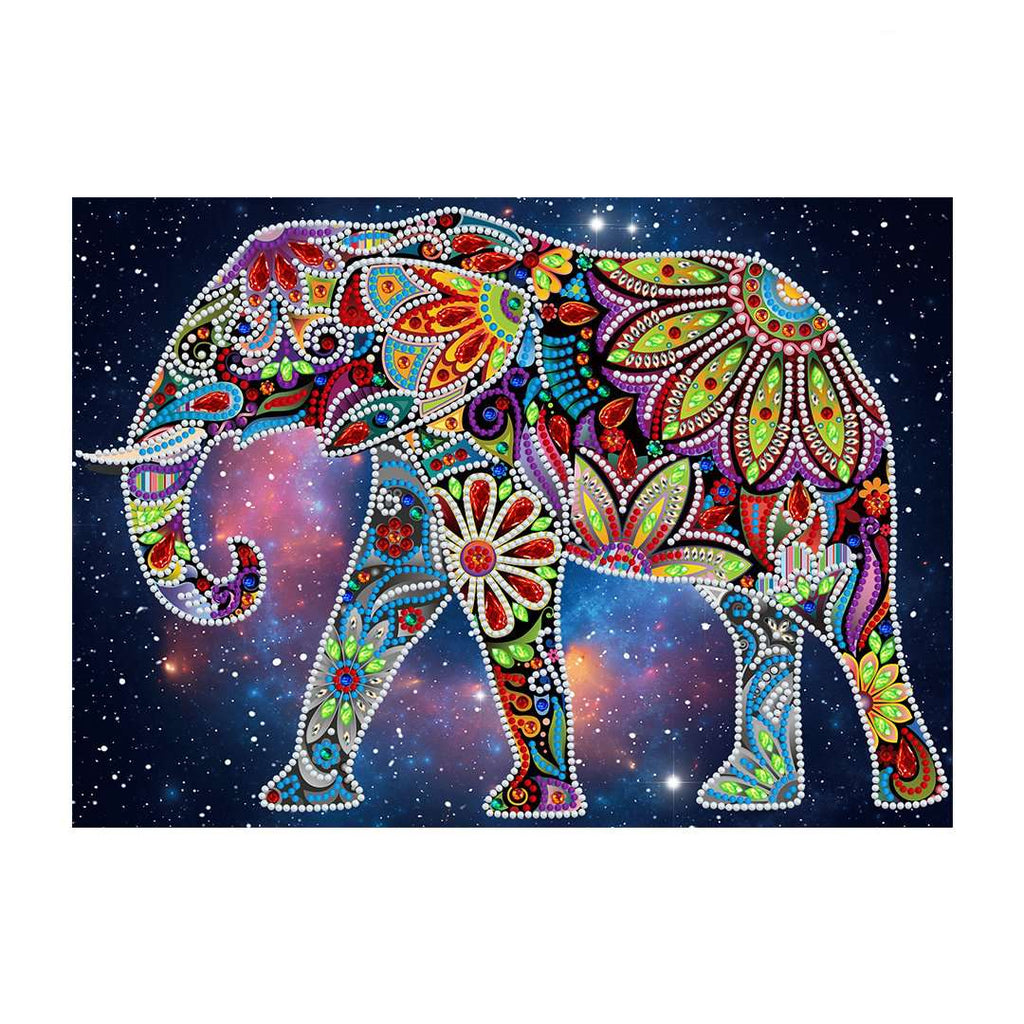 Elephant Art | Glow in the Dark