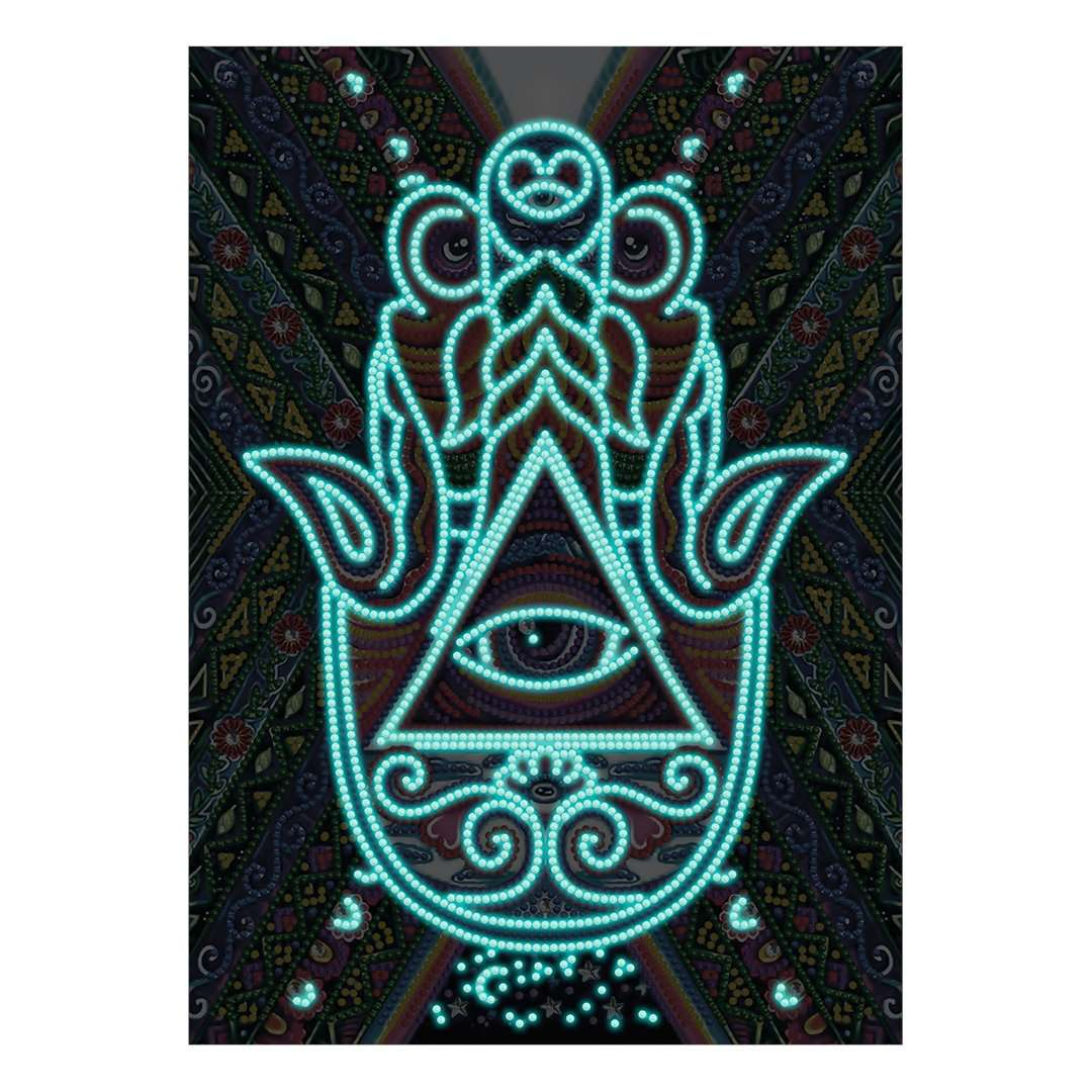Hasma Hand | Glow in the Dark