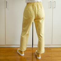 Buttery Denim Mom Jeans (Light Yellow)